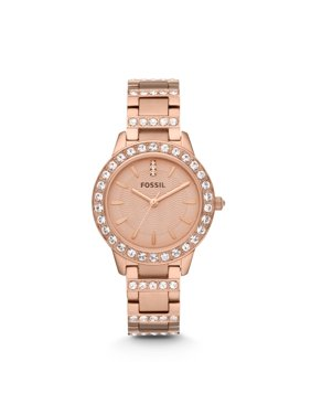 08ec5d34dc25 Product Image Fossil Women s Jesse Rose Gold Tone Stainless Steel Watch  (Style  ES3020)