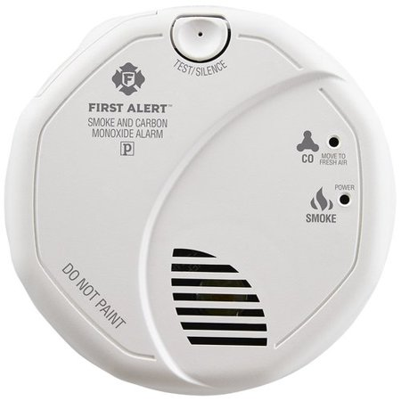 First Alert Hard-Wired Photoelectric Electrochemical Smoke and Carbon Monoxide Alarm