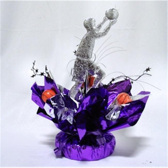 Awesome Events BSK08Q Basketball Quick Wrap Centerpiece, 2 Pack