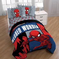 Marvel Spiderman Webbed Wonder Twin Sheet Set