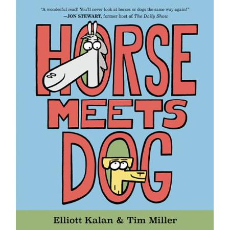 Horse Meets Dog (Hardcover)