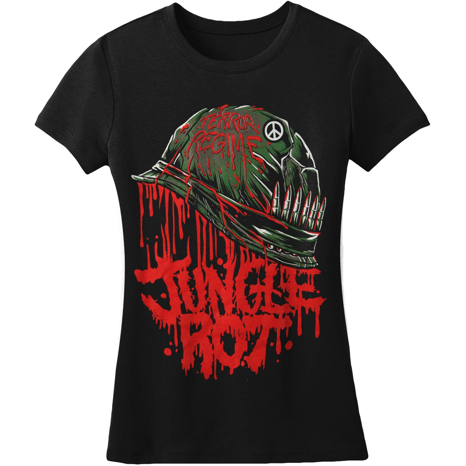 Jungle Rot  Full Metal Rot Girls Jr Black