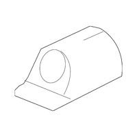 Genuine OE GM License Lamp 13502178