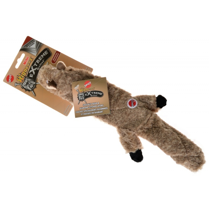"""Ethical products spot mini skinneeez extreme quilted squirrel 14"""""""