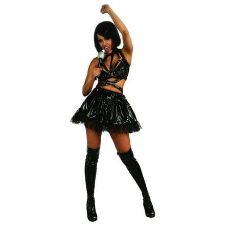 Musical Theatre Halloween Costumes (Rihanna Black Vinyl Costume)