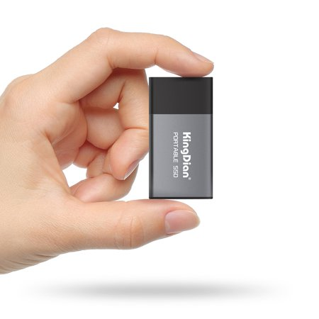 KingDian Newest Portable SSD USB 3.0 120GB/240GB External Solid State Drive for Computer Laptop Desktop (Best External Hard Drive For The Money)