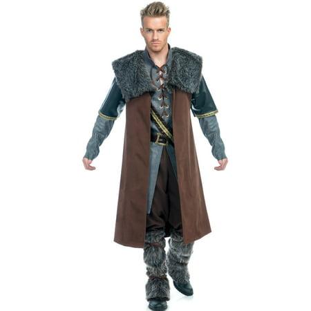Adult's Mens Deluxe Medieval Rogue Mercenary Warrior - Mercenary Costume