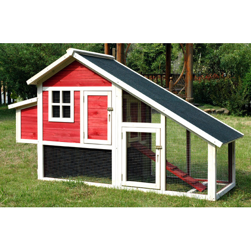 Merry Products Pet Proposal Habitat Chicken Coop with Nesting Box