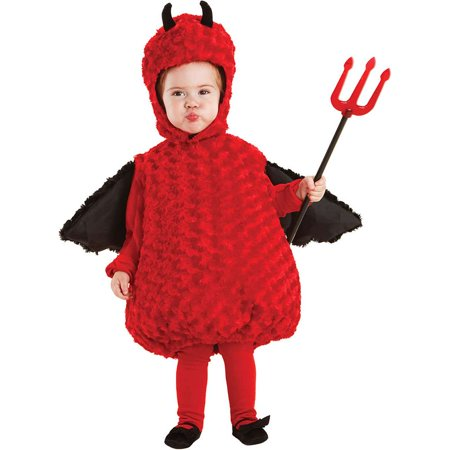 Lil Devil Plush Belly Toddler Costume