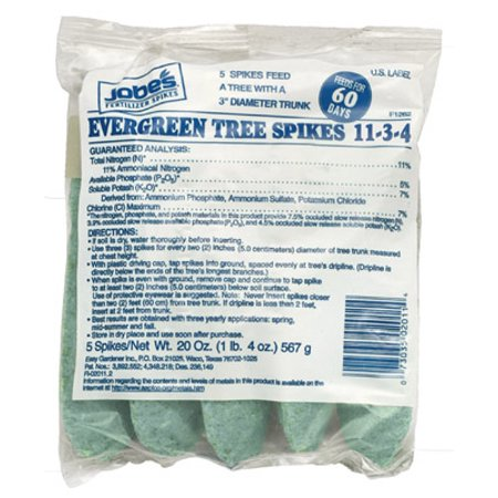 16-4-4 Evergreen Tree Spike With