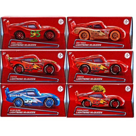 Disney Cars Lightning McQueen Puzzle Box Diecast Car Set