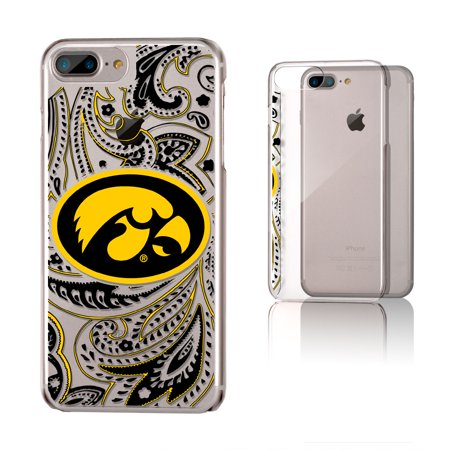 more photos f72ff a6e41 Iowa Hawkeyes Paisley Clear Case for iPhone 8 Plus / 7 Plus / 6 Plus