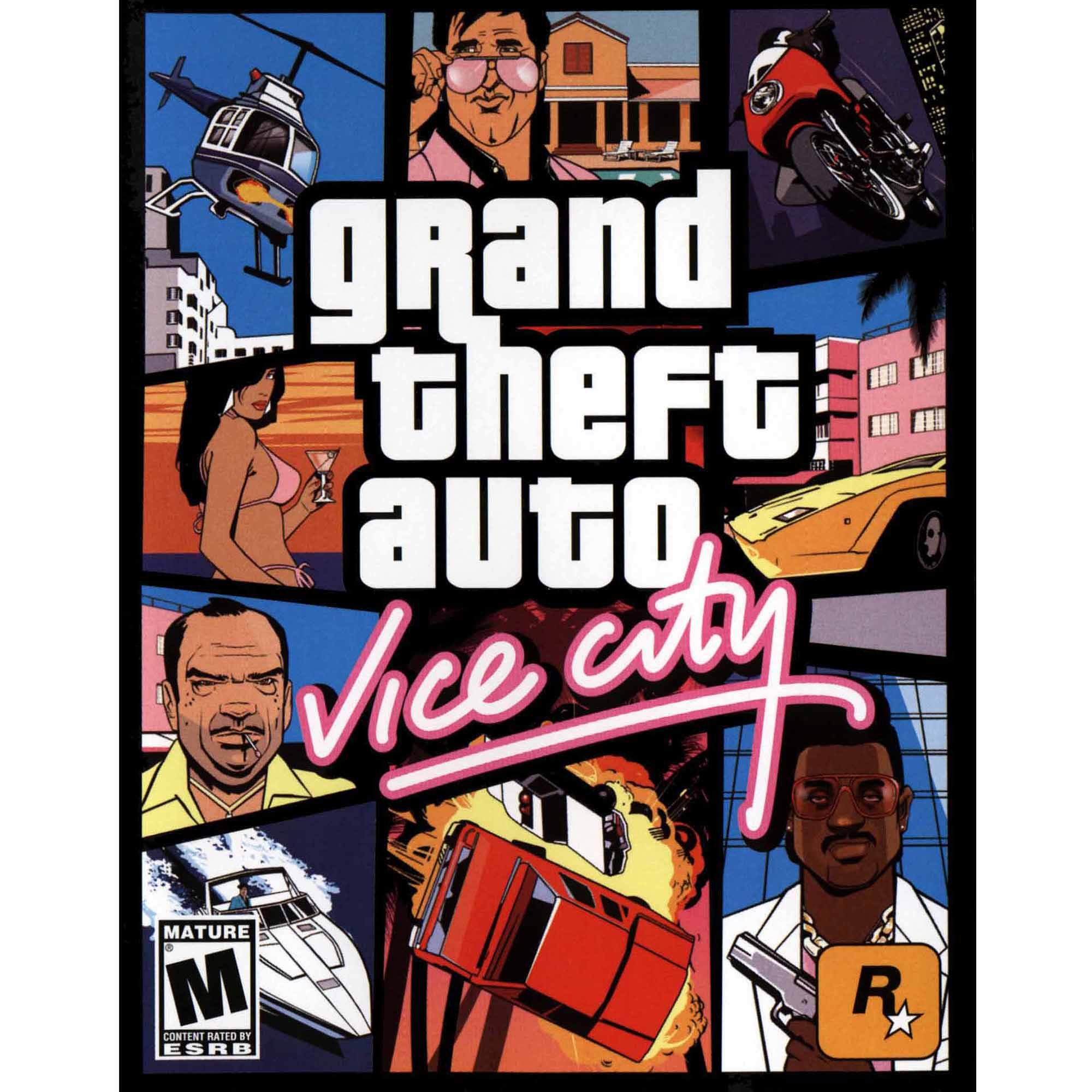 Grand Theft Auto: Vice City (PC) (Digital Code)