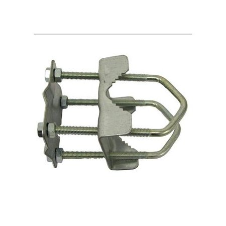 Brand New Pro Signal 33-12256 Antenna Mast Clamp Clamp Two Masts Up To 2