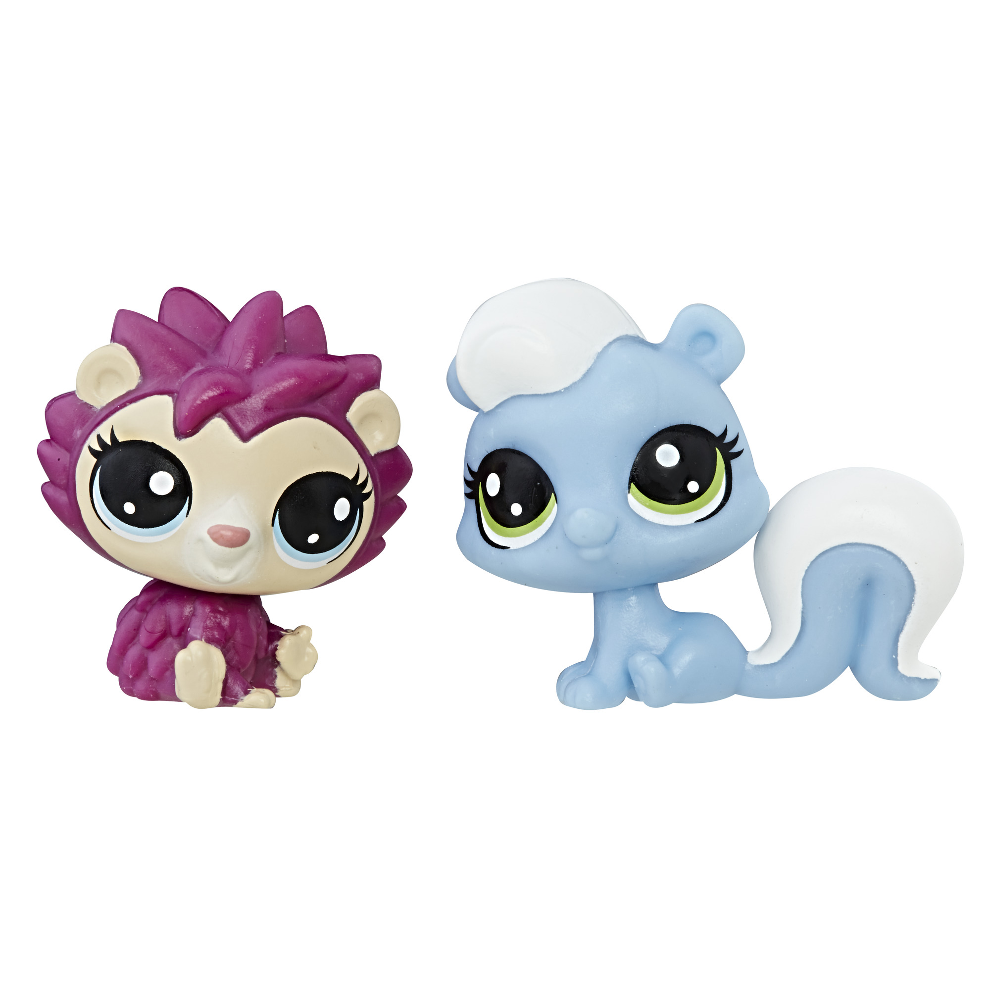 Littlest Pet Shop Mini 2-Pack (skunk/hedgehog)