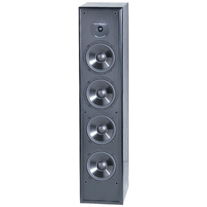 "BIC America 6-1/2"" Floor Speaker (Each) Black DV64"