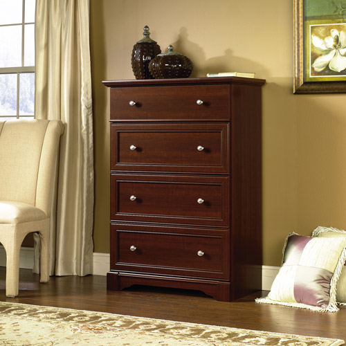 Sauder Palladia 4-Drawer Chest, Multiple Finishes