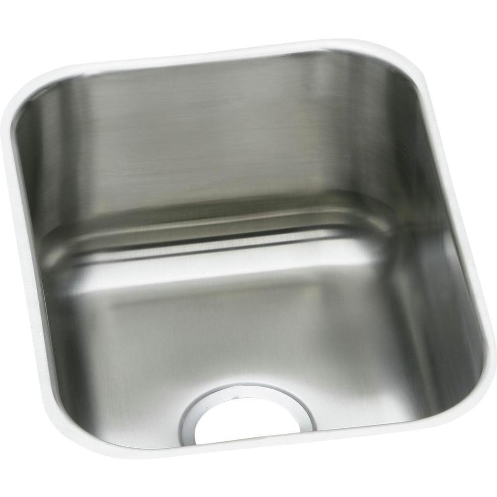 Elkay Dxuh1318 Dayton Stainless Steel Single Bowl Undermount Bar