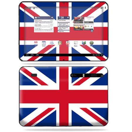 Mightyskins Protective Vinyl Skin Decal Cover for Motorola Xoom Tablet wrap  sticker skins British Pride