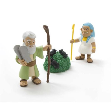 Toy-Figurine-Tales Of Glory: Moses & Ten Plagues