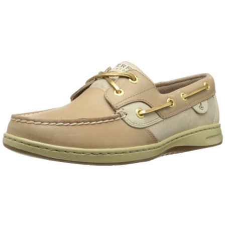 9aeeb032ec7 Sperry - Sperry Top-Sider Women's Bluefish Suede Boat Shoe,Linen ...