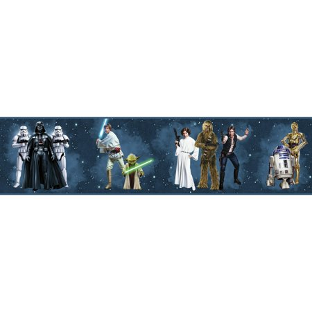 Disney Kids III Star Wars Classic Characters Border - Civil War Wallpaper