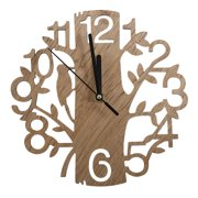 Modern Wood Vintage Design Wall Clock Fashion Style Home Living Room Coffee Shop Chic Bar Personality