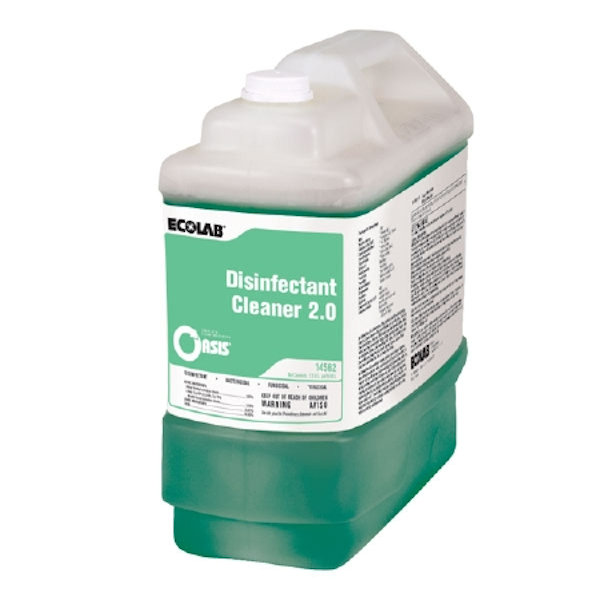 Ecolab 14562 Disinfectant Cleaner 2.0, 2.5 Gal