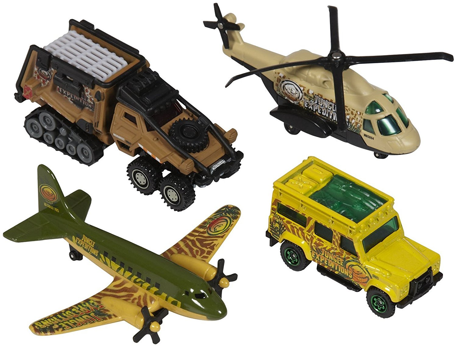 Sky Busters Mission Force Jungle Adventure Pack, The ultimate Matchbox pack in the most iconic themes By... by