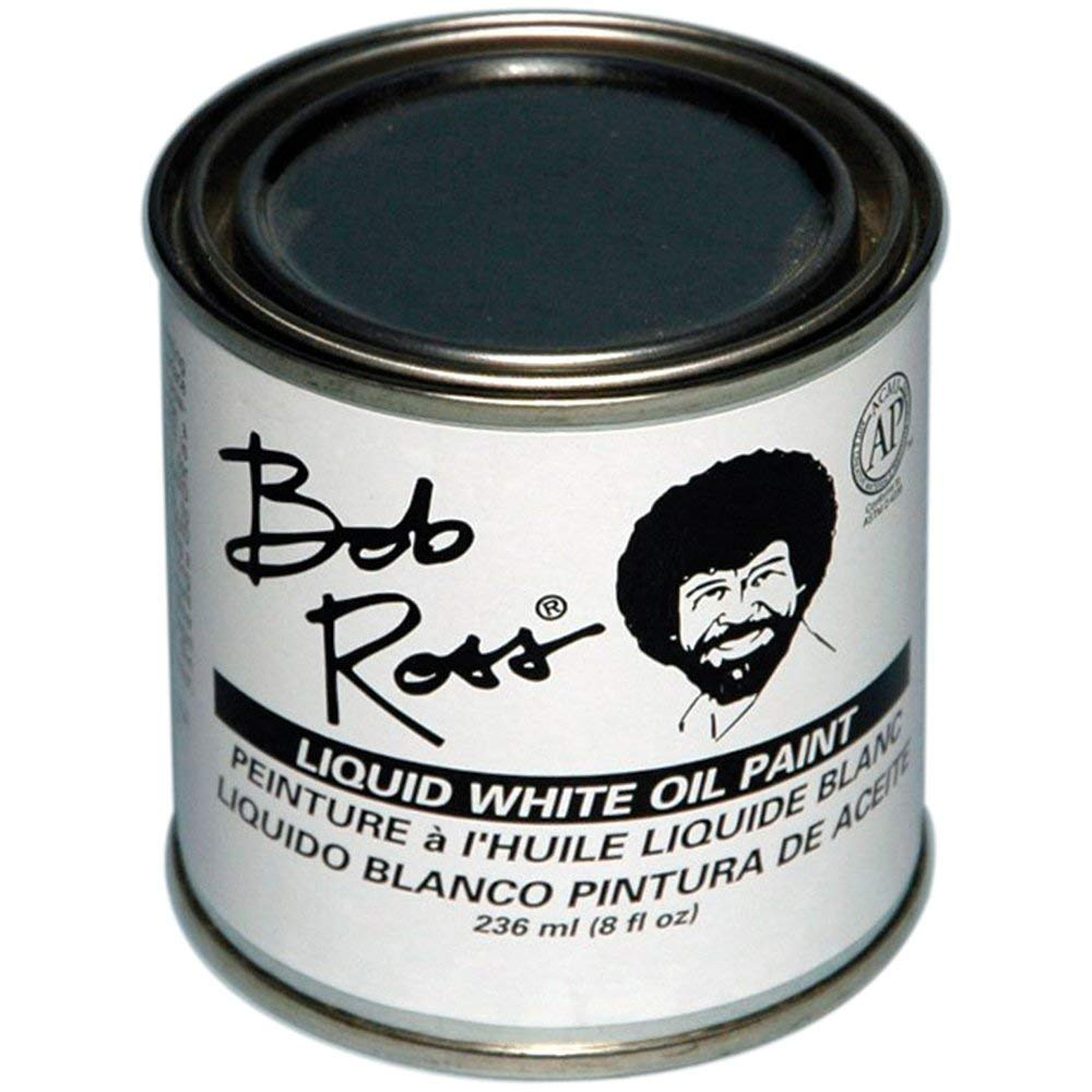 Bob Ross Liquid Medium 8 oz Bottle - White