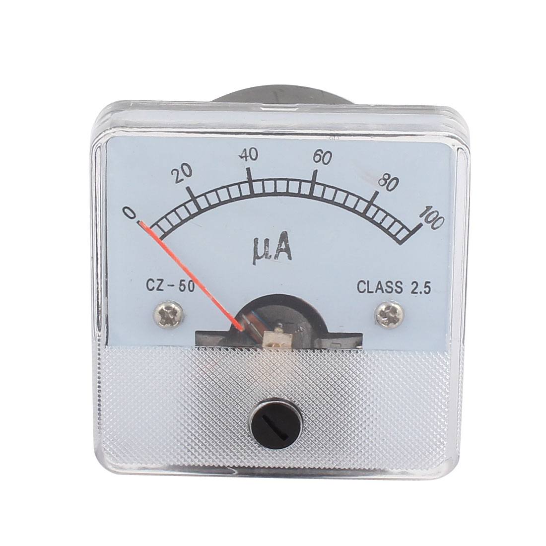 DH50 Class 2.5 Accuracy DC 0-100UA Analog Panel Meter Ammeter Amperemeter