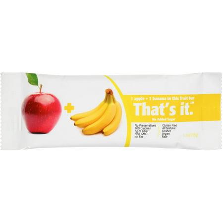 That's It Apple + Banana Fruit Bar, 1.2 oz, (Pack of 12)](Heath Bar Apple Dip)
