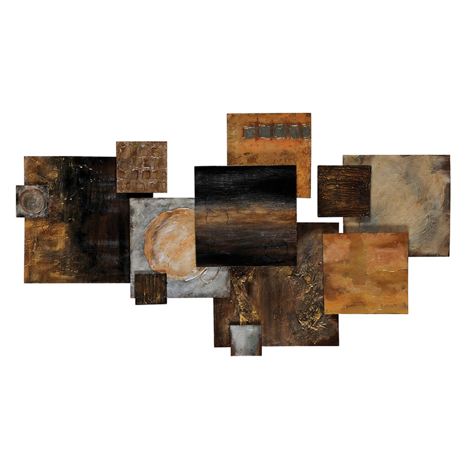 Transforming Wall Sculpture - 51W x 29H in.