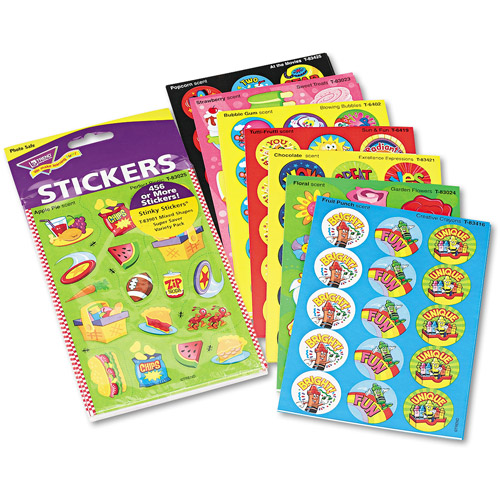 TREND Stinky Stickers Variety Pack, Sweet Scents, 480pk