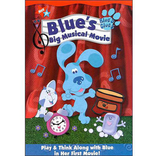 Blue's Clues Blue's Big Musical Movie by PARAMOUNT HOME VIDEO