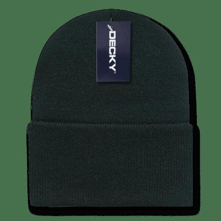 Decky Warm Winter Classic Beanies Beany For Men Women Cuffed Knit Ski Snowboard Skull Caps Hats Snug