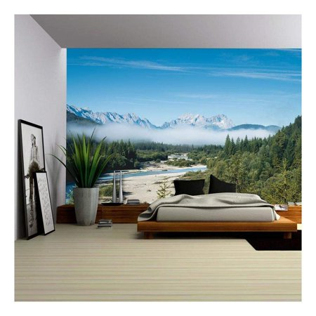 wall26 Beautiful Mountain Landscape Removable Wall Mural Self Adhesive