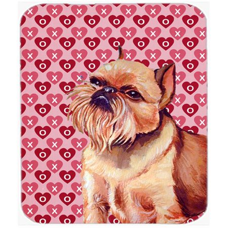 Brussels Griffon Hearts Love And Valentines Day Mouse Pad, Hot Pad or Trivet - image 1 de 1