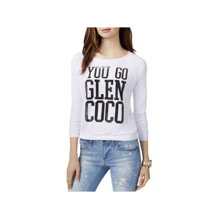 Prince Peter Womens Mean Girls Glen Coco Graphic Roundneck Sweatshirt
