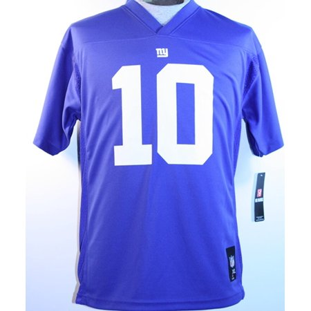 Eli Manning New York Giants Youth NFL Mid Tier Replica (Eli Manning Signed Jersey)