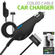 Cellet Samsung Tablet 30 Pin Premium Plug-In Car Charger with Blue LED