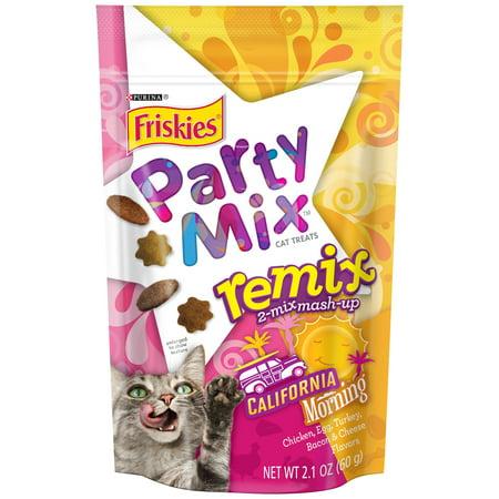 Purina Purina Friskies Party Mix Remix California Morning Cat Treats, 2.1 oz