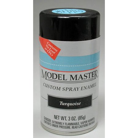 Testors Model Master Automotive Enamel Turquoise Spray 1:0 Scale