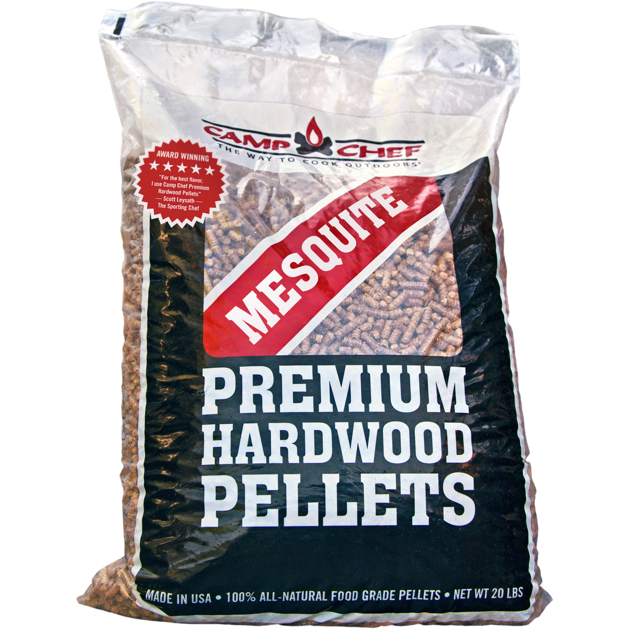 Camp Chef Mesquite Wood Smoke Pro Premium Hardwood Pellets