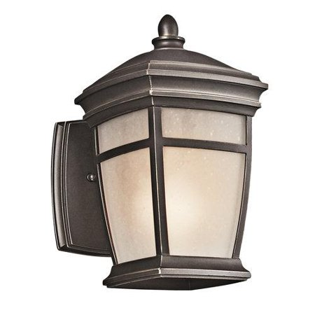 Kichler  49270-FL  Wall Sconces  McAdams  Outdoor Lighting  ;Rubbed Bronze