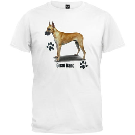 Fawn Great Dane Profile White (Dane Cook Shirts)