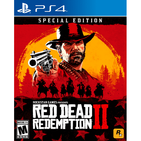Red Dead Redemption 2 Special Edition, Rockstar Games, PlayStation 4, - Play Happy Halloween 2 Game
