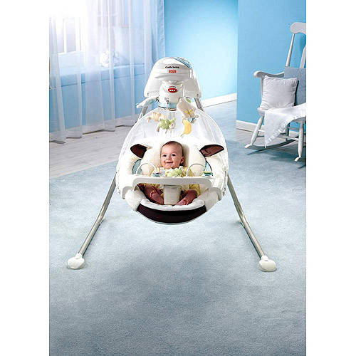 Fisher-Price - My Little Lamb Cradle Swing