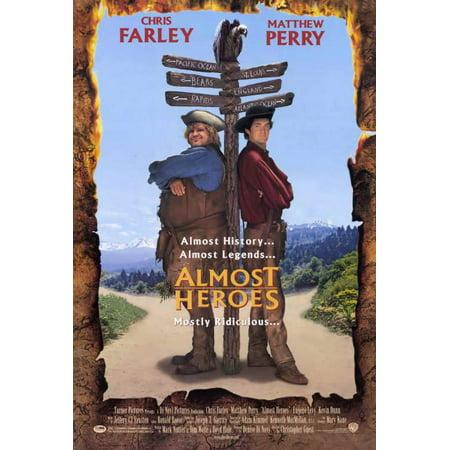 Almost Heroes POSTER Movie (27x40) - Eugene Halloween