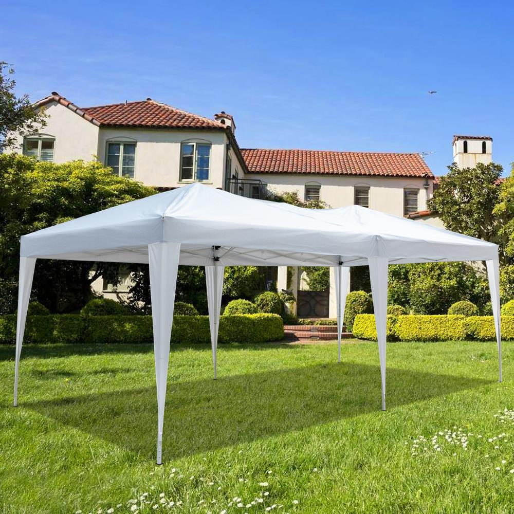 Ktaxon 10 X 20 Easy Pop Up Wedding Party Tent Foldable